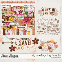 Signs of Spring Bundle by Sugary Fancy