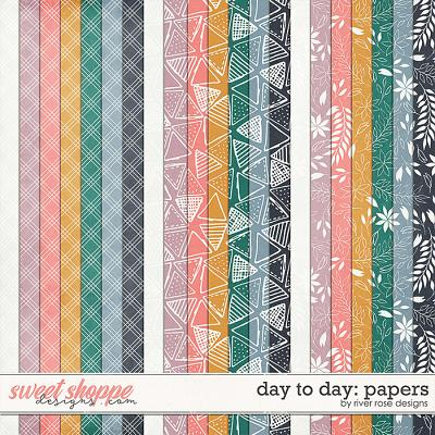 Day to Day: Papers by River Rose Designs