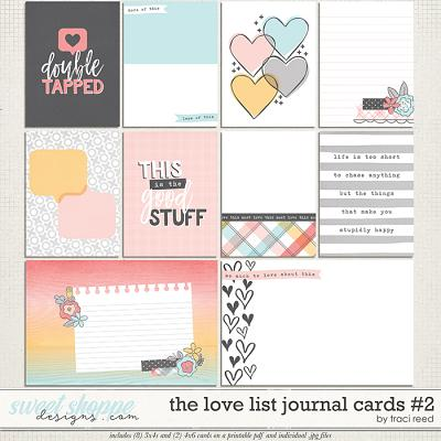 The Love List Cards #2 by Traci Reed