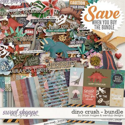 Dino Crush - Bundle by Brook Magee & WendyP Designs