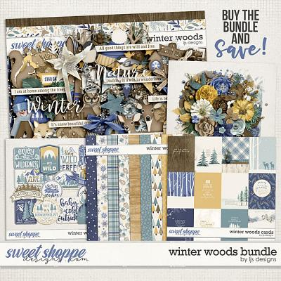 Winter Woods Bundle by LJS Designs