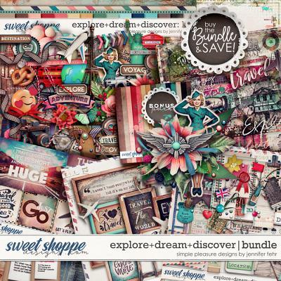 explore+dream+discover bundle: simple pleasure designs by jennifer fehr