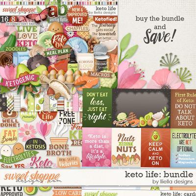 Keto Life Bundle by lliella designs