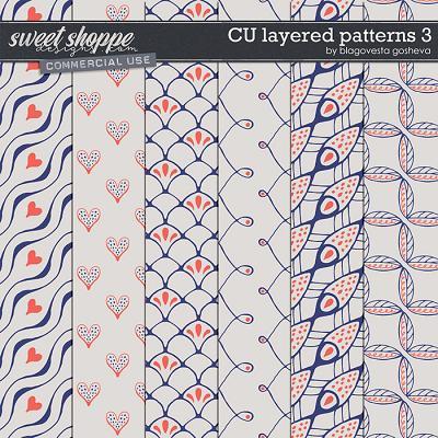 CU Layered Patterns 3 by Blagovesta Gosheva