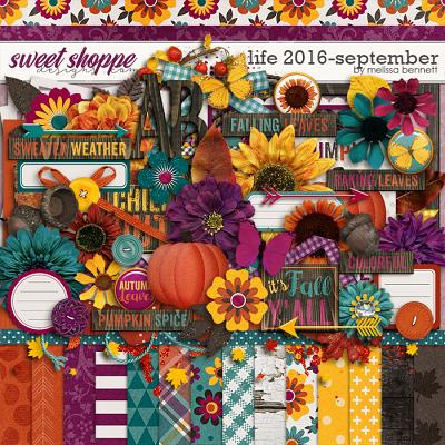 Life 2016-September by Melissa Bennett