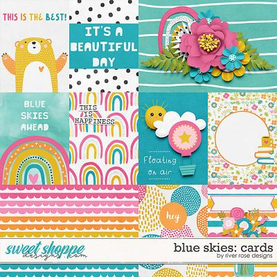 Blue Skies: Cards by River Rose Designs