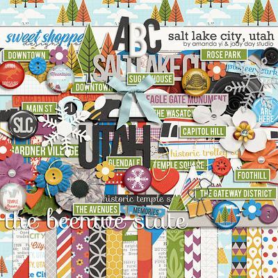 Salt Lake City, Utah by Jady Day Studio and Amanda Yi