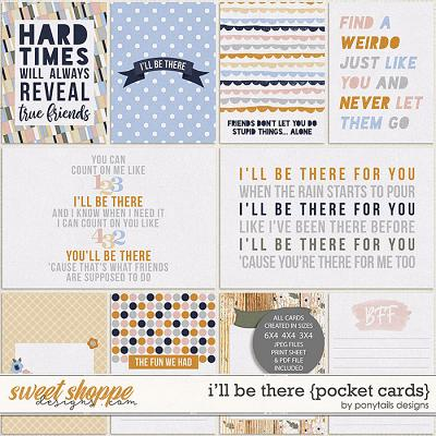 I'll Be There Pocket Cards by Ponytails