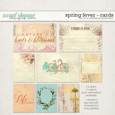 Spring Fever Journal Cards by On A Whimsical Adventure