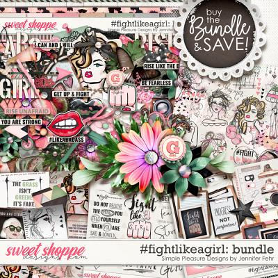 #fightlikeagirl bundle: simple pleasure designs by Jennifer Fehr