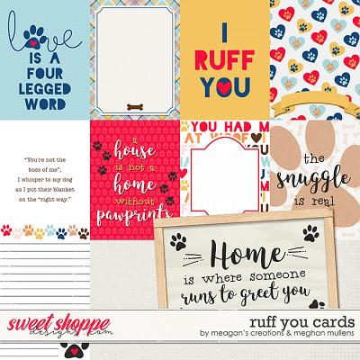 Ruff You-Project Card Pack by Meagan's Creations and Meghan Mullens