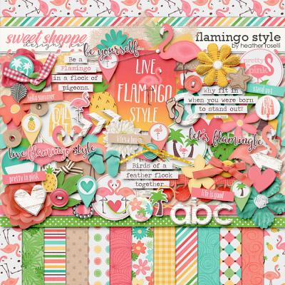 Flamingo Style by Heather Roselli