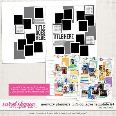 Memory Planners - Big - Collages #4 by Traci Reed