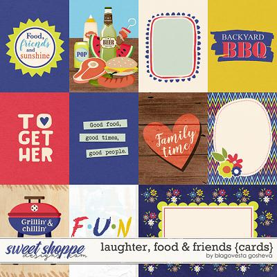 Laughter, Food & Friends {cards} by Blagovesta Gosheva