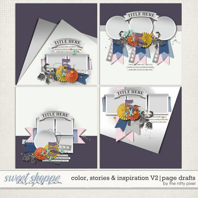 COLOR, STORIES & INSPIRATION V.2 | PAGE DRAFTS by The Nifty Pixel