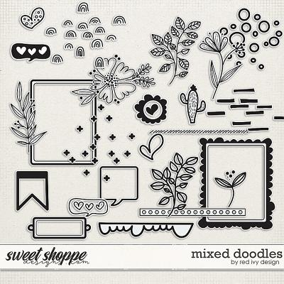 Mixed Doodles by Red Ivy Design