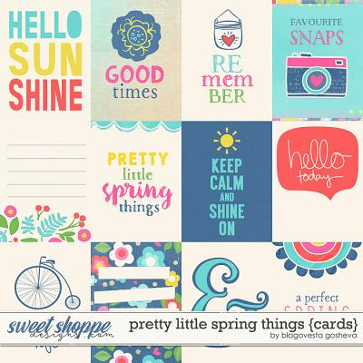 Pretty Little Spring Things {cards} by Blagovesta Gosheva