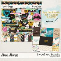 I Woof You Bundle by Sugary Fancy