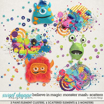 Believe in Magic: MONSTER MASH- SCATTERZ by Studio Flergs