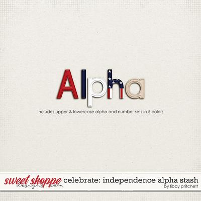 Celebrate: Independence Day Alpha Stash by Libby Pritchett