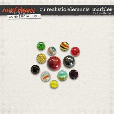 CU REALISTIC ELEMENTS | MARBLES by The Nifty Pixel