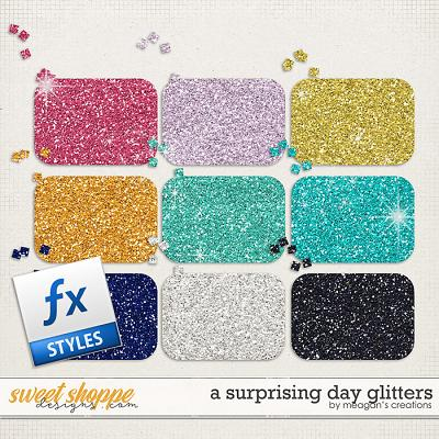 A Surprising Day Glitters by Meagan's Creations