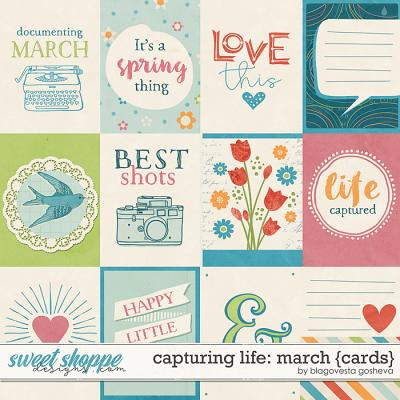 Capturing life: March {Cards} by Blagovesta Gosheva