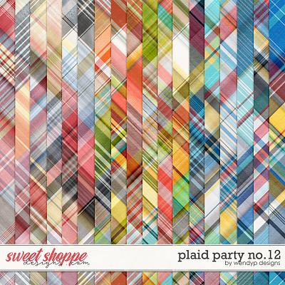 Plaid Prty No.12 by WendyP Designs
