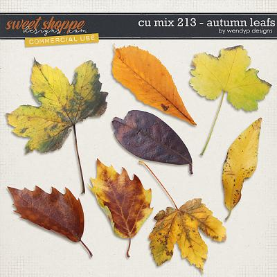 CU Mix 213 - autumn leafs by WendyP Designs