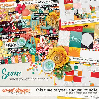 This Time of Year August: Bundle by Crystal Livesay and Grace Lee