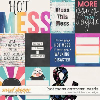 Hot Mess Express Cards by Amanda Yi & River Rose Designs