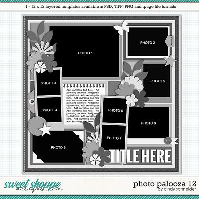Cindy's Layered Templates - Photo Palooza 12 by Cindy Schneider