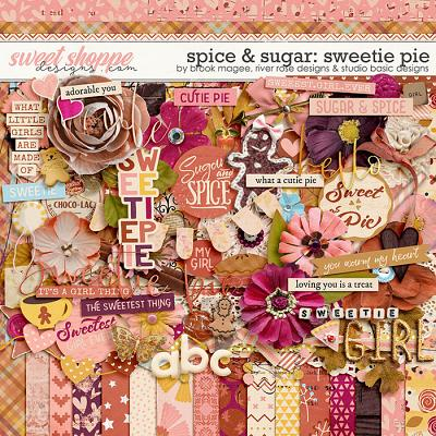 Spice & Sugar: Sweetie Pie Kit by Brook Magee, River Rose and Studio Basic