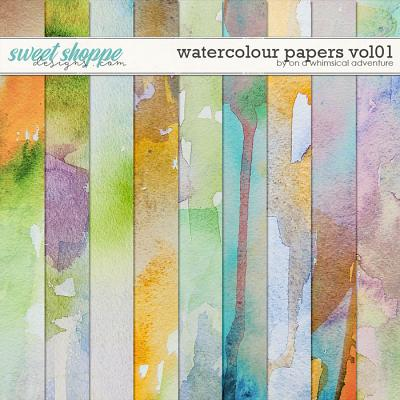Watercolour Papers Vol01 by On A Whimsical Adventure