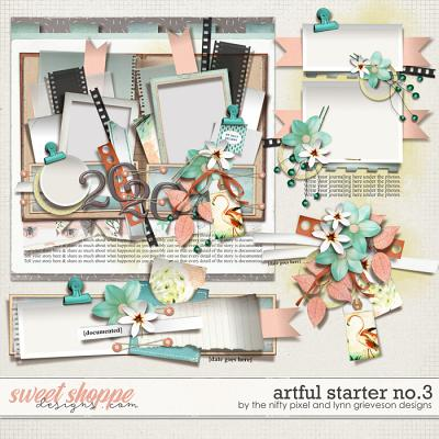 ARTFUL STARTER No.3 by The Nifty Pixel & Lynn Grieveson Designs