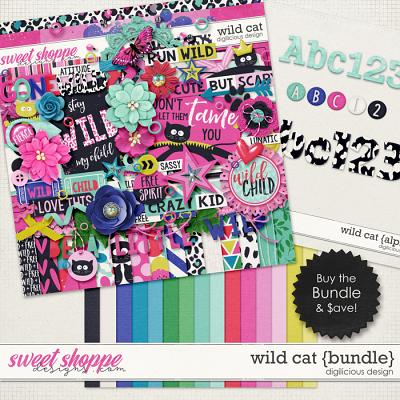 Wild Cat {Bundle} by Digilicious Design