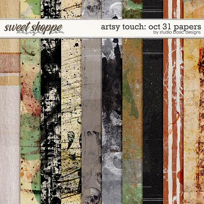 Artsy Touch: Oct 31 Papers by Studio Basic
