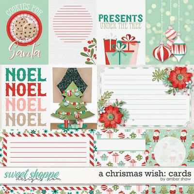 A Christmas Wish:  Cards by Amber Shaw