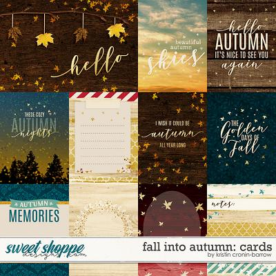 Fall into Autumn: Cards by Kristin Cronin-Barrow