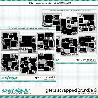 Cindy's Layered Templates - Get It Scrapped Bundle 2 by Cindy Schneider