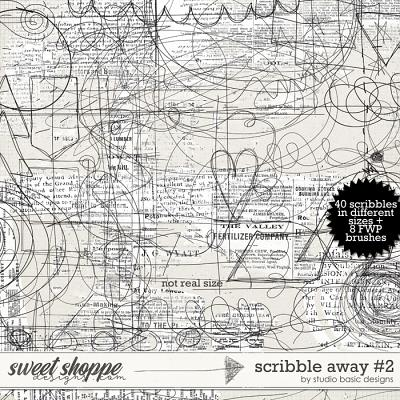 Scribble Away #2 by Studio Basic