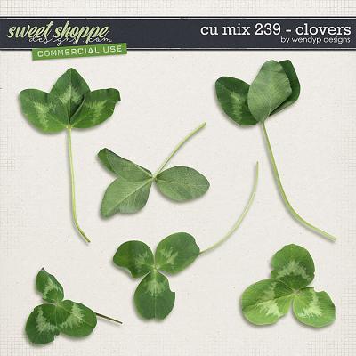 CU MIx 239 - Clovers by WendyP Designs