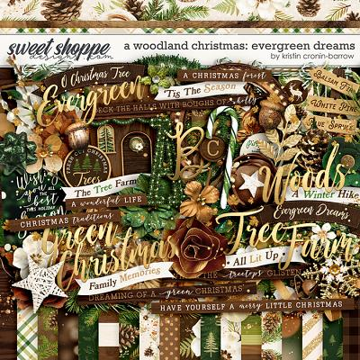 A Woodland Christmas: Evergreen Dreams by Kristin Cronin-Barrow