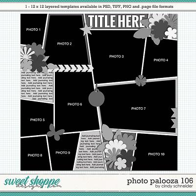 Cindy's Layered Templates - Photo Palooza 106 by Cindy Schneider