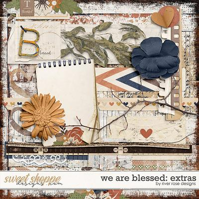 We are Blessed: Extras by River Rose Designs