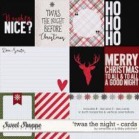 'Twas the Night : Cards by Amanda Yi & Libby Pritchett
