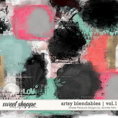 artsy blendables vol.1: Simple Pleasure Designs by Jennifer Fehr