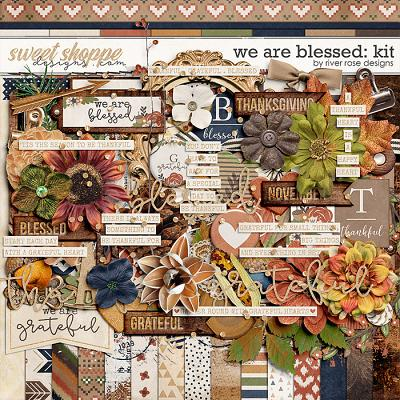 We are Blessed: Kit by River Rose Designs