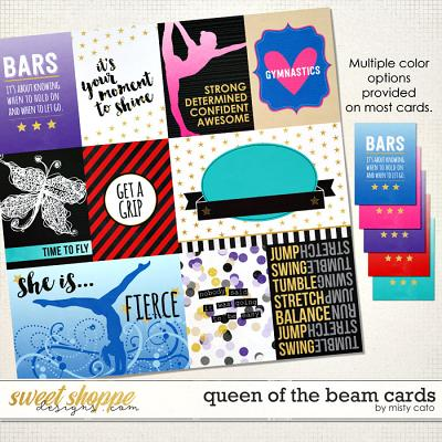 Queen of the Beam Cards by Misty Cato