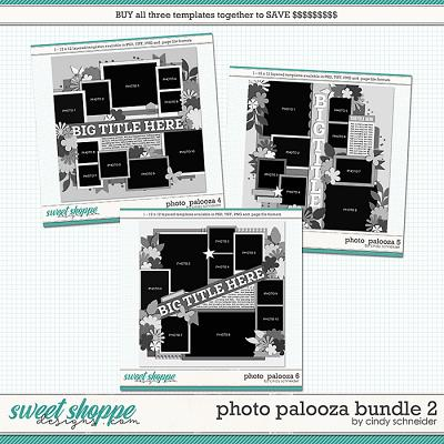Cindy's Layered Templates - Photo Palooza Bundle 2 by Cindy Schneider